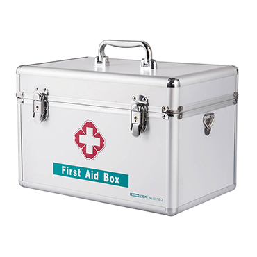 9/12/14/16INCH ALUMINUM FIRST AID BOX STORAGE