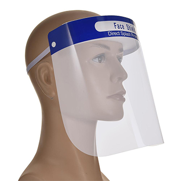 TRANSPARENT PROTECTIVE FACE SHIELD HOOD
